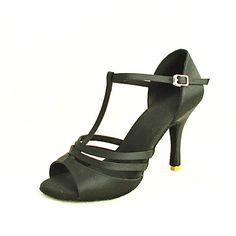 Customizable Satin Dance Shoes
