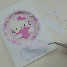 #sanrio #hellokitty #cartoon #custom #handmade #gift #illustration #illustrator #paperart  #paperartist #papercut #papercrafting #custompapercut #folding #papercraft #handcut #instaart #hobby #cute #kawaii #greetingcard