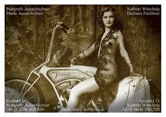 Calling-card design for Frieda, an all-female Austro-German vintage band Calling Card Design, 49er, Calling Cards, Graphic Design Projects, German, Letters, Band, Female, Movies