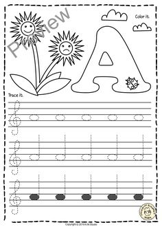 Piano Instruction A set of 26 music worksheets {Spring themed} is created to help your students learn to trace, copy, color and draw notes on the staff {Treble pitch}. {C first – A second octaves}. Music Math, Music Classroom, Teaching Music, Music Games, Music Lessons For Kids, Music For Kids, Piano Lessons, Piano Songs For Beginners, Music Symbols