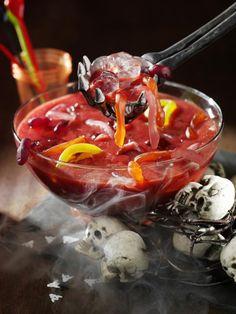 Halloween Red Wine Sangria Recipe