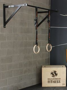 Our wall mounted pull up bar is super strong, mounts easily in your garage gym or basement and is US Made.