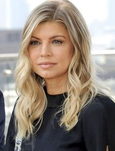 Fergie ash blonde hair