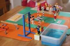 The Imagination Tree: Playmobil Olympic Sports Small World Play