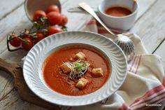 Zuppa di pomodori grigliati