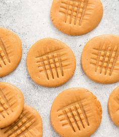 3 Ingredient No Bake Healthy Peanut Butter Cookies