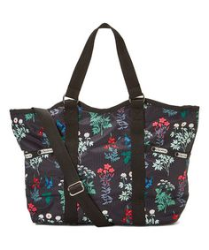 Look what I found on #zulily! Charcoal Flowerbed Carryall #zulilyfinds