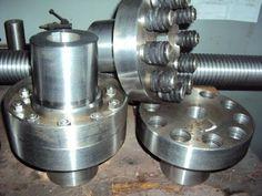 Оборудование изготовления спиралей шнековых конвейеров - YouTube