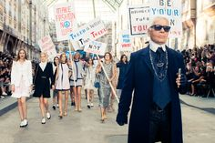 The photo of all photos. Bow down, b*tches. http://www.thecoveteur.com/chanel-springsummer-2015/?hvid=3wx4wR