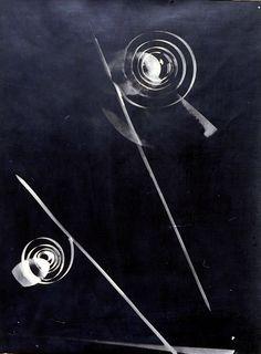 Photogram by Laszlo Moholy-Nagy ca. 1929