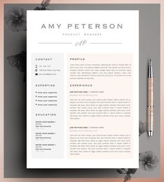 Professional CV Curriculum Vitae 2 Page Resume Simple If you like this cv template. Check others on my CV template board :) Thanks for sharing! Resume Layout, Resume Tips, Resume Cv, Resume Writing, Resume Examples, Resume Ideas, Resume 2017, Cv Ideas, Resume Format