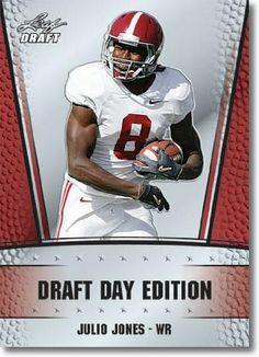 2011 Leaf NFL Draft Day Edition #10 Julio Jones RC - Atlanta Falcons (RC - Rookie Card)(Football Cards) - http://nfledge.net/2011-leaf-nfl-draft-day-edition-10-julio-jones-rc-atlanta-falcons-rc-rookie-cardfootball-cards/ - 2011 Leaf NFL Draft Day Edition #10 Julio Jones RC – Atlanta Falcons (RC – Rookie Card)(Football Cards) Product Features  2011 Leaf NFL Draft Day Edition #10 Julio Jones RC – Atlanta Falcons (RC – Rookie Card)(Football Cards) One Sin
