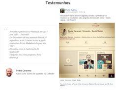 Resultados reais de Pessoas reais. Quer conseguir Milhares de Seguidores em pouco tempo como o @pcaramez conseguiu? Veja aqui... http://membros.pinstagramguy.com/bootcampv20/ #pinterest