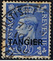 Morocco Agencies TANGIER 1949 SG 262 King George VI Fine Used SG 262 Scott 532 Other African Stamps Here
