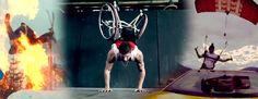 """#Socialma #Superación ¡Superando sus límites con fantásticas acrobacias! Inspirador vídeo que nos recuerda que siempre podemos superar nuestros límites, como dijo Earl Nightingale: """"Nos convertimos en lo que pensamos"""" ¡Disfrútenlo!"""