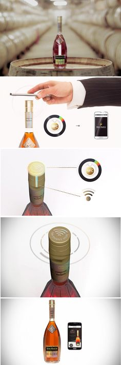 | REMY MARTIN COMBATS FRAUD WITH A CONNECTED SPIRITS BOTTLE |