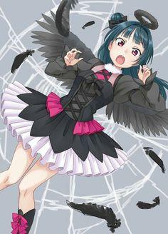 Tsushima Yoshiko Moe Anime, Kawaii Anime, Anime Art, Anime Fantasy, Fantasy Girl, Art Jokes, Otaku, Live Picture, Manga Cute