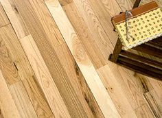 "3/4"" x 5"" Oak Flooring - imperfect floors for a rustic feel at a reasonable price $1.37/sq ft."
