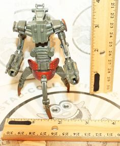"""STAR WARS THE CLONE WARS DESTROYER DROID DROIDEKA HASBRO TOY ACTION 4.25"""" FIGURE #Hasbro"""