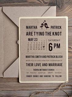 50 invitaciones de boda perfectas para 2015: Las tendencias impresas más cool Image: 40