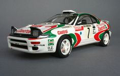 Toyota Celica GT4 - Castrol - 04 Toyota Cars, Toyota Celica, Castrol Oil, Mechanical Art, Car Images, Rally Car, Fast Cars, Cars And Motorcycles, Diecast