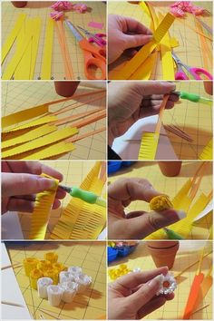 Quilled Paper Daisies