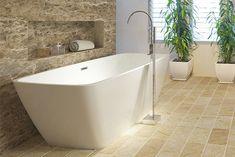 Volně stojící akrylátová vana KANSAS Rozměr:170x78x60cm 26 300Kč Kansas, Bathtub, Bathroom, Houses, Standing Bath, Washroom, Homes, Bathtubs, Bath Tube
