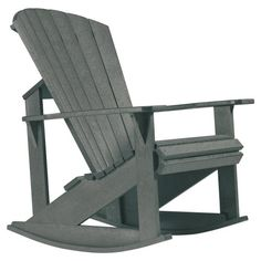 CR Plastic Generations Adirondack Rocking Chair - Outdoor Rocking Chairs at Hayneedle