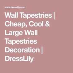 Wall Tapestries | Cheap, Cool & Large Wall Tapestries Decoration | DressLily