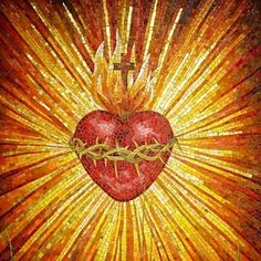 Inflamed heart of jesus Religious Photos, Religious Art, Religion, Christian Symbols, Heart Of Jesus, Jesus Pictures, Arte Popular, Photo Heart, Sacred Art