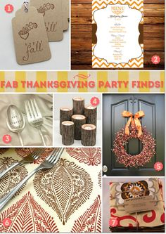 Table decorations and invitations ideas for Thanksgiving party.  #thanksgivingideas #thanksgivingdecorations #thanksgiving