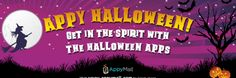 Invitation to Join #AppyHalloween Event for a chance to win $50 Gift Card