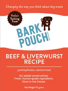What's the Bark? New flavors! New Flavour, Dog Treats, Pouch, Recipes, Sachets, Recipies, Doggie Treats, Porch