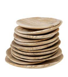 Andrea Brugi / Samina Langholz olive salt dishes #kitchenware #wood #product_design