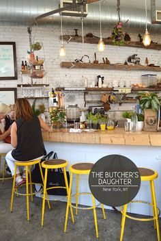 The Butcher's Daughter in NYC // via Spotted SF
