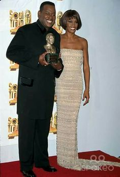 Luther Vandross and Whitney Houston