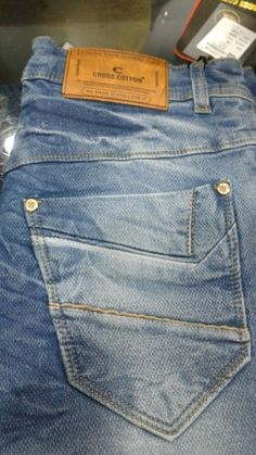#CROSS COTTON Jeans #Manufacturer of readymade Garments From Delhi.Wholesalers can direct Contact Him. Click Here For More Details www.urbiz.co.in/ #UrBiz #Textile #garments #Manufacture #wholesaler #delhi #GarmentOnlinePortal #GandhiNagar  #Jeans Denim Fashion, Fashion Outfits, Denim Outfit, Work Inspiration, Pocket Detail, Trousers, Pants, Kids Boys, Menswear