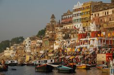 Benarés o Varanasi India