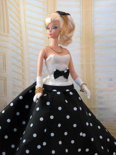 Affaire de gala - pour Silkstone Barbie et les poupées de Victoire Roux