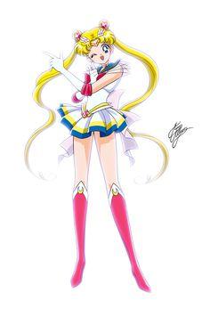 Super Sailor Moon by Marco Albiero