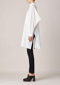 Y's by Yohji Yamamoto Boxy Shirting (White)