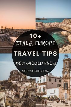 BEST OF ITALY EUROPE Italy Travel Tips You Need to Know Before You Visit