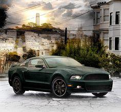 2013 Bullitt Mustang by eyenovation