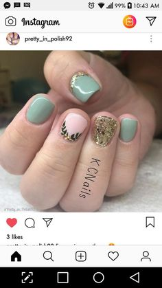 "Learn even more information on ""gel nail designs for fall"". Look into our website. Short Nail Manicure, Short Gel Nails, Shellac Nails, Love Nails, Pretty Nails, Nail Techniques, Rainbow Nails, Glam Nails, Bridal Nails"