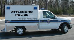 MA - Attleboro Police Prisoner Transport Ford F-250