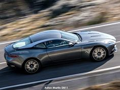 Aston Martin new leaked shots reveal car in full - Bauer Media 2016 New Sports Cars, Super Sport Cars, Super Cars, Aston Martin Db11, Aston Martin Vanquish, Most Expensive Car, Latest Cars, Twin Turbo