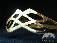 Larp Mittelalter Schmuck Handgefertigte Messingkrone 1