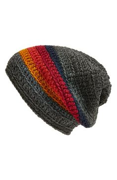 Free shipping and returns on KING & FIFTH SUPPLY CO  'The Beeskie' Beanie at Nordstrom.com. A soft, slouchy knit beanie makes for a versatile cold-weather staple.