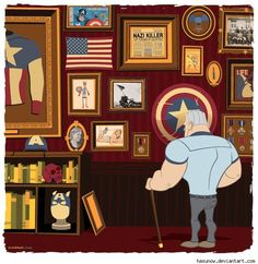 The trophy room by Ian Glaubinger