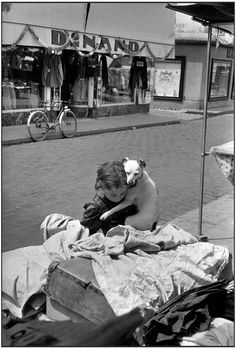 Magnum Photos -  Henri Cartier-Bresson // FRANCE. Charente. Cognac. 1953.